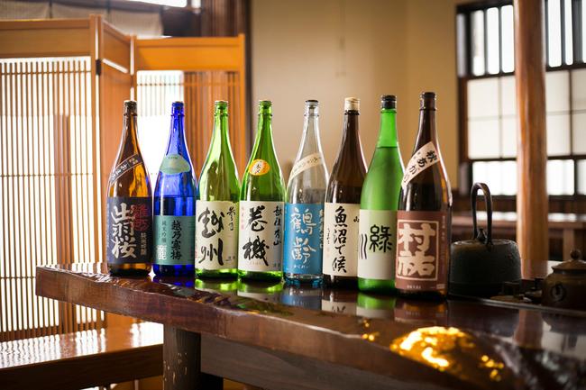 日本酒・県内県外純米酒