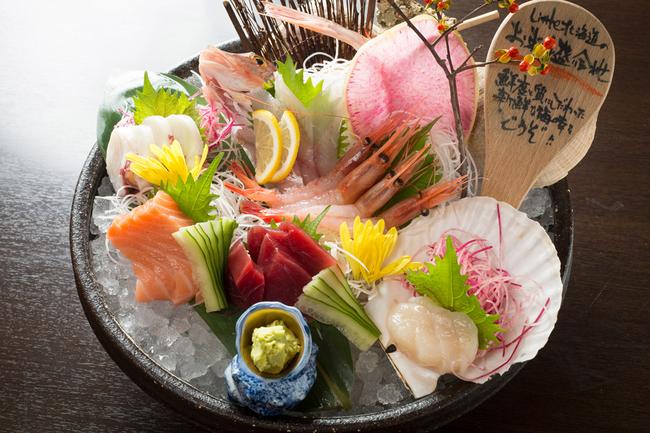 Little Hokkaido Sashimi Selection (3-4 people)