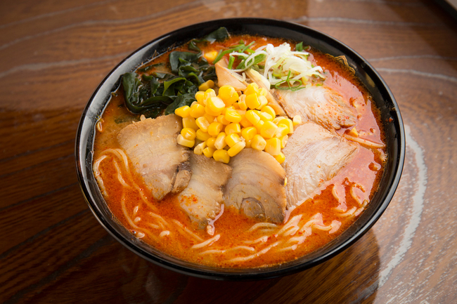 Spicy Miso Ramen with our own brand miso