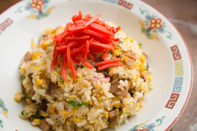 Fried Rice with Roasted Iberico Pork