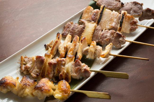 Selection of 6 Grilled Skewers